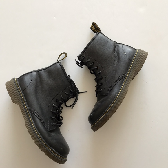 bbfb7a24419a9 Dr. Martens Other - Doc Marten JR Delaney Softy T Boots Shoes Kid's 3